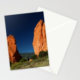 Garden Of Gods View Stationery Cards
