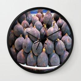 Fresh Figs Wall Clock