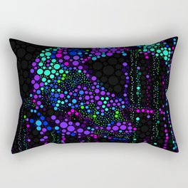 FISH ABSTRACT MOSAIC Rectangular Pillow
