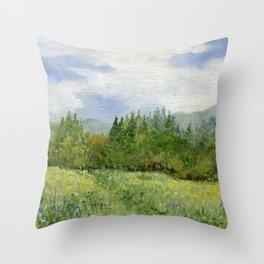 Underhill Fields Throw Pillow