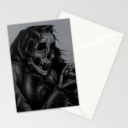 Skeleton Holding Diamond Stationery Cards