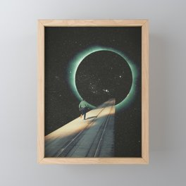Escaping into the Void Framed Mini Art Print
