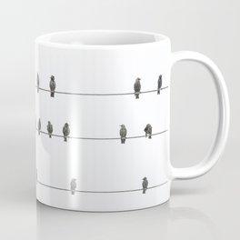 Birds on the Wires Coffee Mug