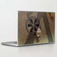 fear Laptop & iPad Skins featuring fear by ErsanYagiz
