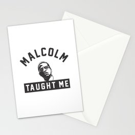 Malcolm X Taught Me Stationery Cards