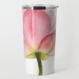 Pink lotus #2 Travel Mug