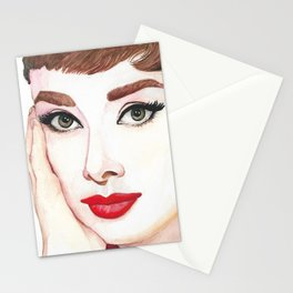 Audrey Hepburn Portrait Stationery Cards