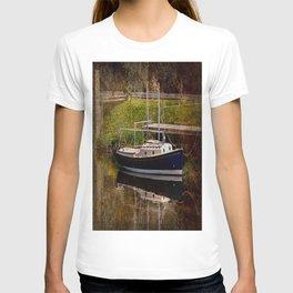 Little River Boat. T-shirt