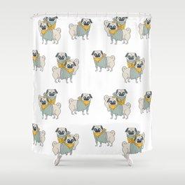 Pugs Shower Curtain