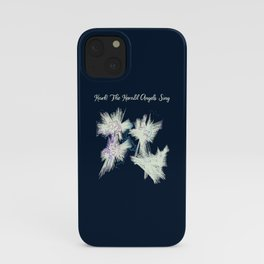 Hark! The Herald Angels Sing Christmas Abstract iPhone Case