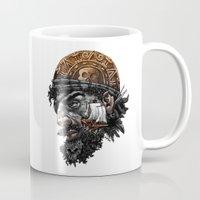 pirate Mugs featuring Pirate by Kiptoe
