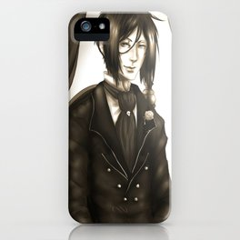 Sebastian Michaelis - The Watchdog's Butler iPhone Case