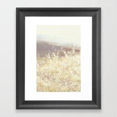 Vintage Wildflowers Framed Art Print