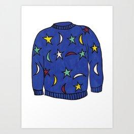 Season 1, Episode6 (full sweater) Art Print