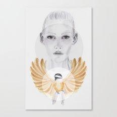 Little Brown Bird Canvas Print