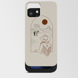 Lost Pony - Rustic iPhone Card Case