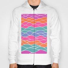 Multicolored Waves Hoody