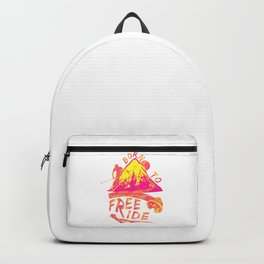 Born To Freeride Backcountry Skiing yp Backpack