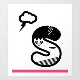 ABC: S Art Print