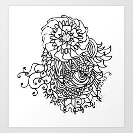 Floraworks Art Print