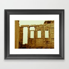 Athens Jewel Framed Art Print