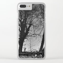 Reflection #7 - Chester canal Clear iPhone Case