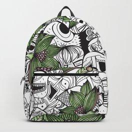 Green Plants Backpack