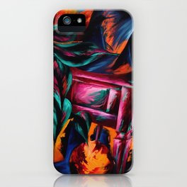 Expressionistic Still Life iPhone Case