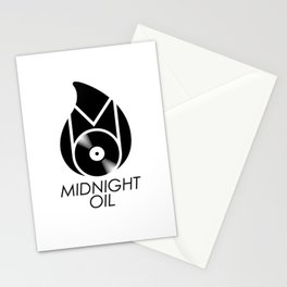 Midnight Oil Stationery Cards