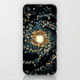 Pinwheel Galaxy M101 (8bit) iPhone Case