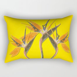 strelitzia - Bird of Paradise Flowers II Rectangular Pillow