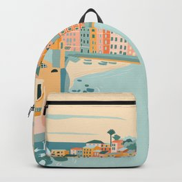 Italy, Vernazza Backpack