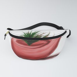 pipe with plant Fanny Pack
