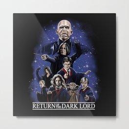 Return of the Dark Lord Metal Print