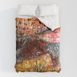 Sedimentary Rock Abstract Comforters