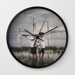 Aventure imaginaire Wall Clock