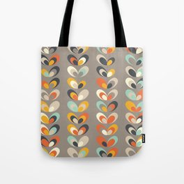 Retro seasons 06, Autumn evening Tote Bag