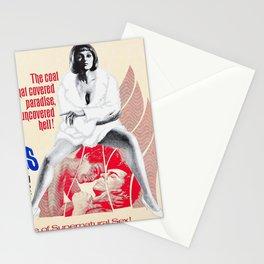 Vintage Film Poster- Venus in Furs (1967) Stationery Cards