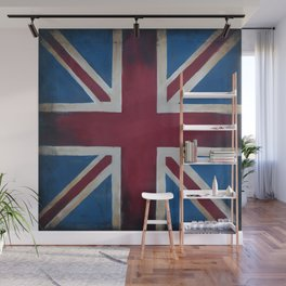 Union Jack Antique Wall Mural