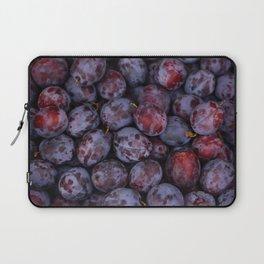 Purple plums fruit pattern Laptop Sleeve