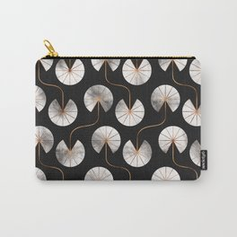 Abstract Ginkgo Leaves Pattern Carry-All Pouch