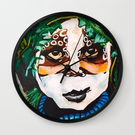 African Child Wall Clock