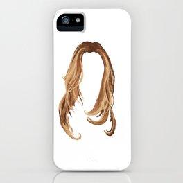 Blonde Hair iPhone Case