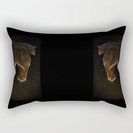 Edoras horse Rectangular Pillow