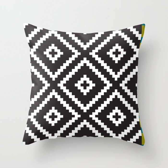 Ikea Lappljung Ruta Inverse Throw Pillow By Dizzymoments