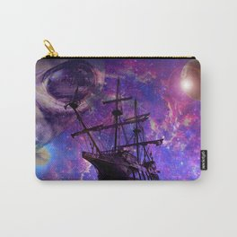 Sailing the Galaxy Carry-All Pouch
