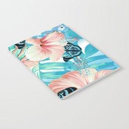 Tropical Spring Aqua Notebook