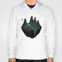 island Hoodies featuring island. by Louis Roskosch