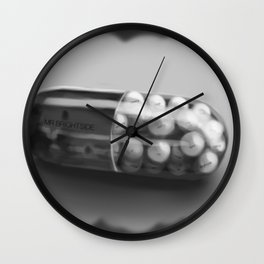 Mr Brightside Pill - Personalisation Available Wall Clock