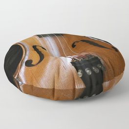 Violin Floor Pillow